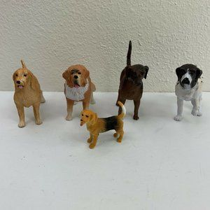 Realistic Dogs Toy Lot of 5 German Shorthair Griff